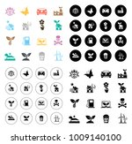 ecology and nature icons   Shutterstock .eps vector #1009140100