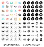 shipping icons set   Shutterstock .eps vector #1009140124