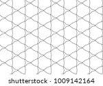 seamless geometric ornamental... | Shutterstock .eps vector #1009142164