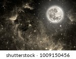 background night sky with stars ... | Shutterstock . vector #1009150456