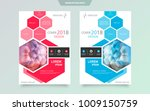 cover design template for... | Shutterstock .eps vector #1009150759