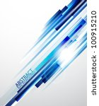 blue straight lines abstract... | Shutterstock .eps vector #100915210