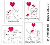 valentines day vector graphics... | Shutterstock .eps vector #1009168138