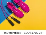 fitness accessories  healthy... | Shutterstock . vector #1009170724