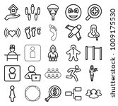 people icons. set of 25... | Shutterstock .eps vector #1009175530