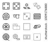 roll icons. set of 16 editable... | Shutterstock .eps vector #1009176880
