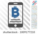 baht mobile payment icon with... | Shutterstock .eps vector #1009177210