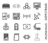 digital icons. set of 16... | Shutterstock .eps vector #1009178668