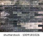 brick wall texture in loft style | Shutterstock . vector #1009181026