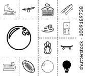 recreation icons. set of 13...   Shutterstock .eps vector #1009189738