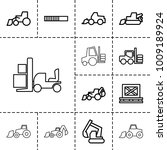 loader icons. set of 13... | Shutterstock .eps vector #1009189924