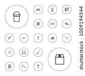 editable vector metal icons ... | Shutterstock .eps vector #1009194544