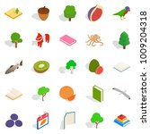 recycling timber icons set....   Shutterstock .eps vector #1009204318