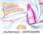realistic 3d fabric softener... | Shutterstock .eps vector #1009206898