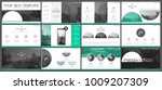 set of green and gray ... | Shutterstock .eps vector #1009207309
