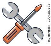 tools repair icon. cartoon... | Shutterstock .eps vector #1009207978