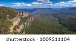 three sisters in echo point ... | Shutterstock . vector #1009211104