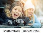 happiness caucasian smilling... | Shutterstock . vector #1009218958