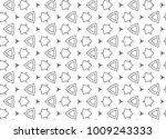 seamless vector pattern in... | Shutterstock .eps vector #1009243333