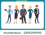 business people teamwork ... | Shutterstock .eps vector #1009249450