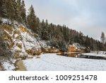 erglu cliffs   eagle cliffs ....   Shutterstock . vector #1009251478