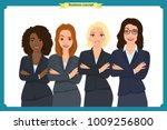 businesswoman character vector... | Shutterstock .eps vector #1009256800
