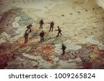 ukraine  russia and eurounion... | Shutterstock . vector #1009265824