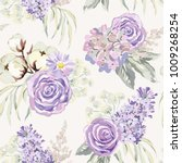 mauve spring bouquets with... | Shutterstock .eps vector #1009268254