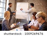 creative business team working... | Shutterstock . vector #1009269676