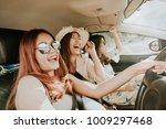 group of happy asian girl best... | Shutterstock . vector #1009297468