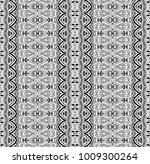 ethnic tile. pattern from...   Shutterstock .eps vector #1009300264