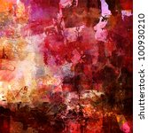 Abstract Painting   Mixed Medi...