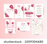wedding collection. spring... | Shutterstock .eps vector #1009304680