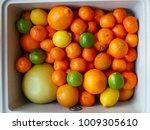 Citrus Fruits In A Kitchen Sink