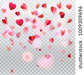 Hearts Confetti And Rose Petals ...