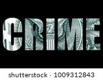 financial crime  money and... | Shutterstock . vector #1009312843