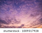 twilight time with cloudy sky...   Shutterstock . vector #1009317928