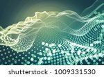 abstract polygonal space low... | Shutterstock . vector #1009331530