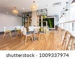 empty interior of modern design ... | Shutterstock . vector #1009337974