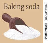 baking soda vector illustration | Shutterstock .eps vector #1009346938