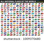 all official national flags of... | Shutterstock .eps vector #1009370680