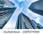 modern office buildings | Shutterstock . vector #1009374400