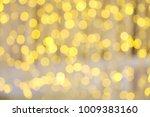 christmas lights background....   Shutterstock . vector #1009383160
