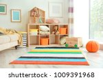 interior of child's room with... | Shutterstock . vector #1009391968