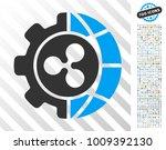 ripple world industry... | Shutterstock .eps vector #1009392130