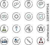 line vector icon set   drop... | Shutterstock .eps vector #1009395916