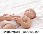 woman applying body cream on...   Shutterstock . vector #1009400554