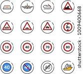 line vector icon set   taxi...   Shutterstock .eps vector #1009400668