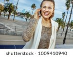 in barcelona for a perfect... | Shutterstock . vector #1009410940