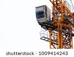 Crane Operator Sitting In His...